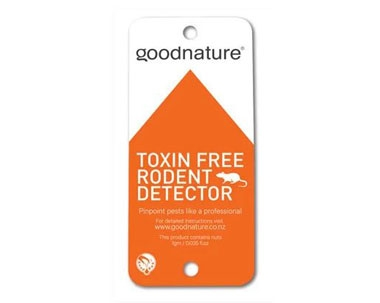 Goodnature detectie kaart
